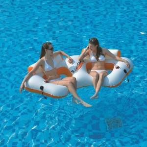 Aufblasbare Schwimminsel 2