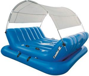 cooler Z bestway schwimminsel