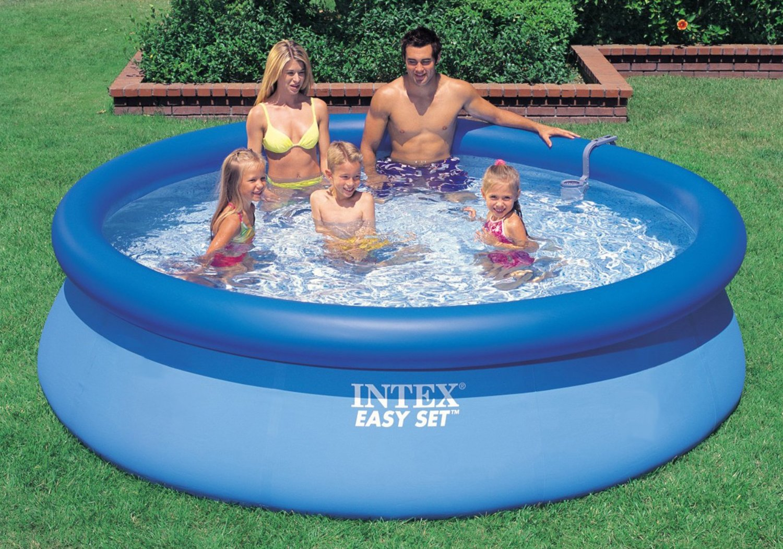 Pool Angebot U2013 Intex Aufstellpool Easy Set Pools®, TÜV/GS, Blau, Ø 305 X 76  Cm